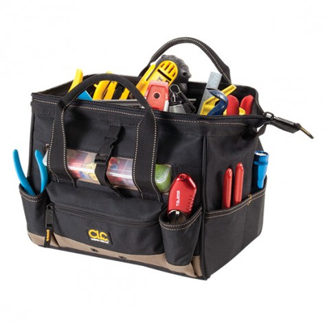 CLC 1533 16 Pocket 12 in. Tote with Top Side Tray