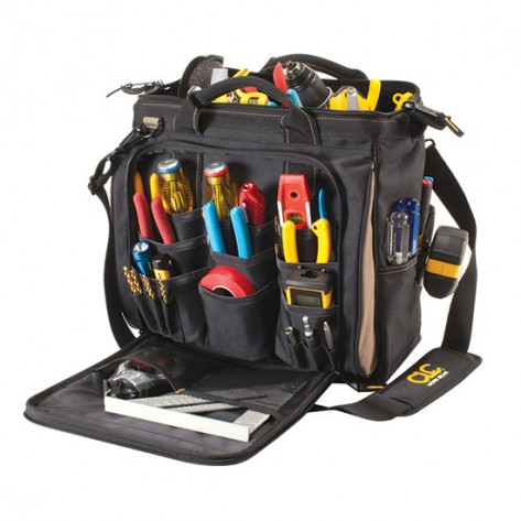 CLC 1537 13 in. Multi-Compartment Softside Tool Bag