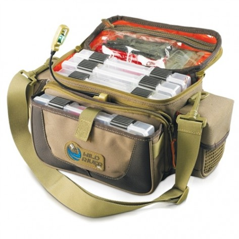 Wild River WT3505 Tackle Tek Mission - Lighted Small Convertible Tackle Bag w/ 4 PT3500 trays