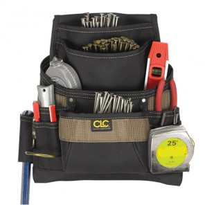 CLC 1620 11 Pocket Nail and Tool Bag