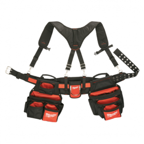 Milwaukee 48-22-8120 Contractor Work Belt w/ Suspension Rig