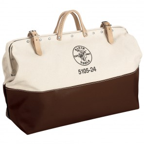 Klein 5105-24 24-in. High-Bottom Canvas Tool Bag