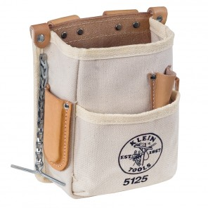 Klein 5125 5 Pocket Tool Pouch Canvas