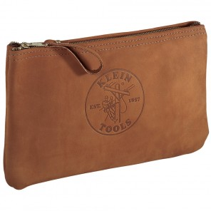 Klein 5139L Top-Grain Leather Zipper Bag