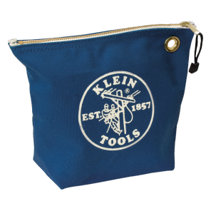 Klein 5539BLU Canvas Zipper Bag-Blue