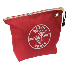 Klein 5539RED Canvas Zipper Bag-Red