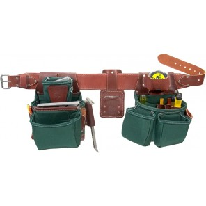 Occidental Leather 8080DB OxyLights Framer Tool Belt Package with Double Outer Bag