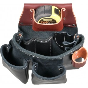 Occidental Leather B5018DB Black 3 Pouch Pro Tool Bag
