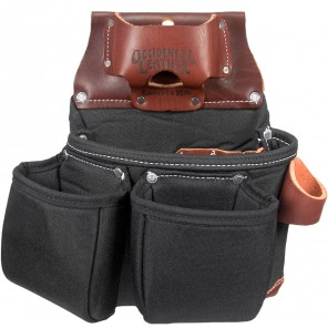 Occidental Leather B8018DB OxyLights 3 Pouch Tool Bag Black