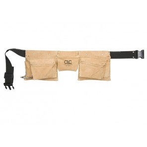 CLC I370X3 8 Pocket HD Leather Work Apron