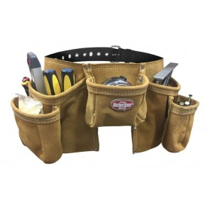 BucketBoss 55149 11 Pocket Suede Leather Apron