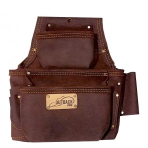 OX Tools OX-P263503 Oil Tanned Leather Fastener Bag