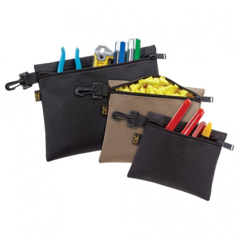 CLC 1100 3 Multi-Purpose Clip-on Zippered Bags