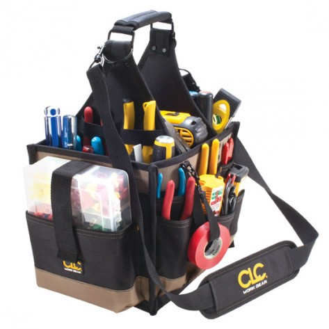 CLC 1528 23  Pocket Large Electrical and Maintenance Softside Tool Bag