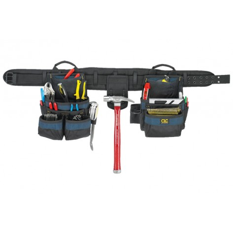 CLC 2605 20 Pocket 4 Piece Carpenter's Ballistic Combo