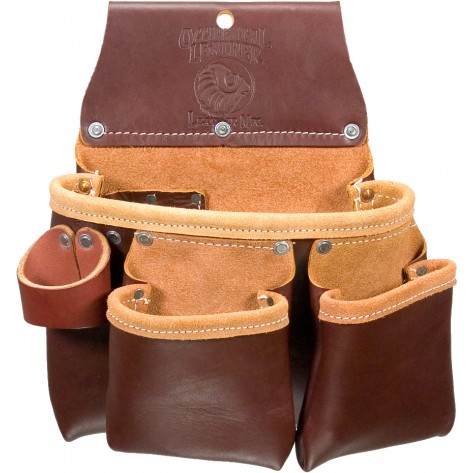 Occidental Leather 5017DBLH 3 Pouch Pro Tool Bag - Left Handed