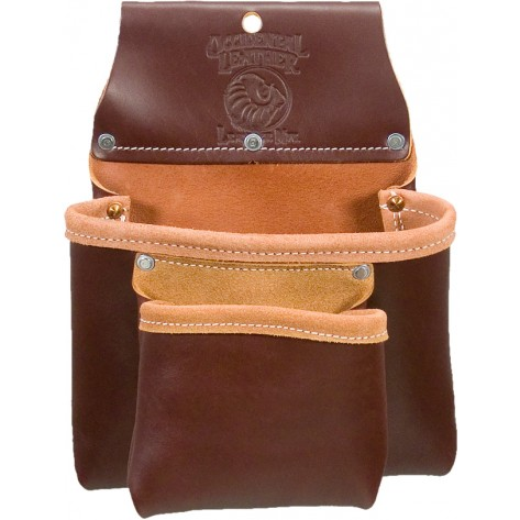 Occidental Leather 5023B 2 Pouch Bag