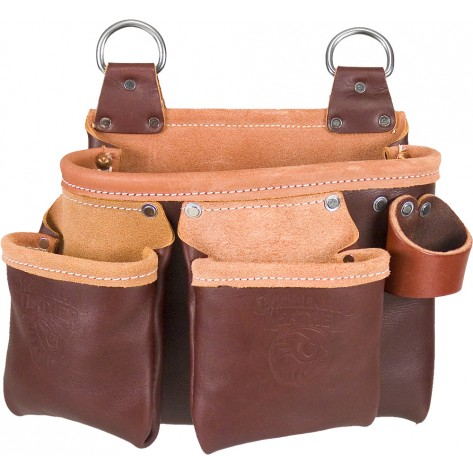 Occidental Leather 5064 3 Pouch Belt-Less Tool Bag