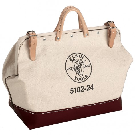 Klein 5102-24 24-in. (610 mm) Canvas Tool Bag