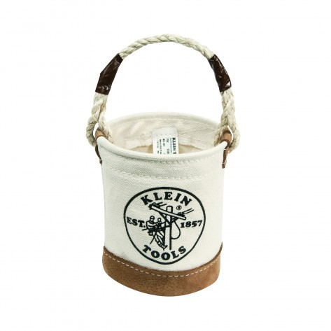 Klein 5104MINI Mini Leather-Bottom Bucket
