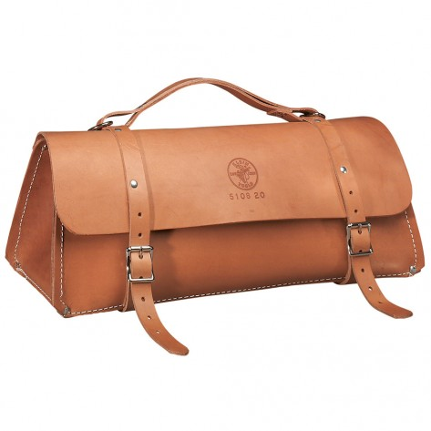 Klein 5108-20 20-in. Deluxe Leather Bag