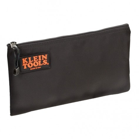 Klein 5139B Black Nylon Zipper Bag
