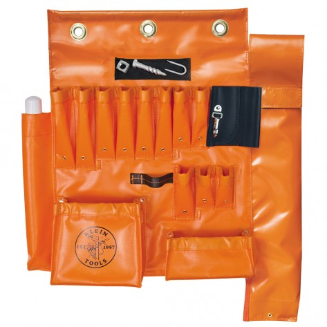 Klein 51829MHS Aerial Apron with Hot Stick Pocket