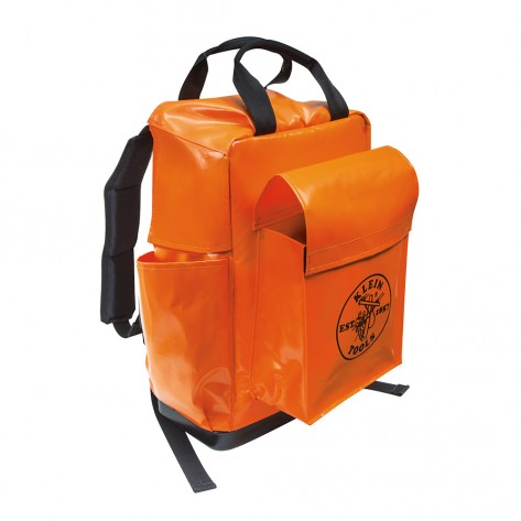 Klein 5185ORA Lineman Backpack Orange