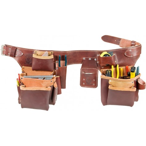 Occidental Leather 5191 Pro Carpenter's 5 Bag Tool Belt Assembly