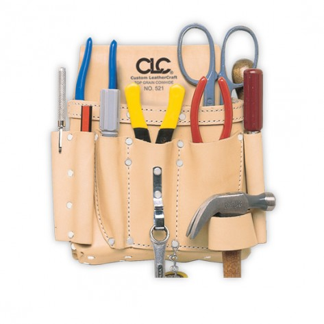 CLC 521 8 Pocket Electrician's Tool Pouch
