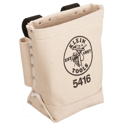 Klein 5416 Bull-Pin and Bolt Bag Canvas