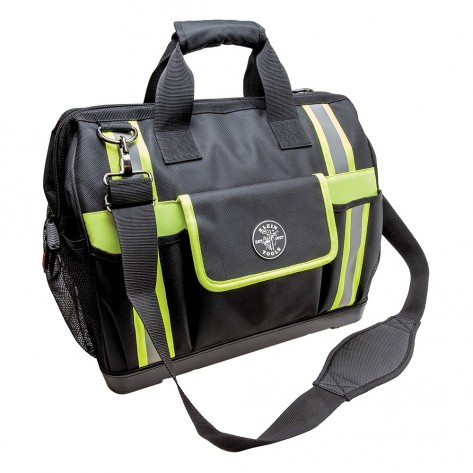 Klein 55598 Tradesman Pro High Visibility Tool Bag