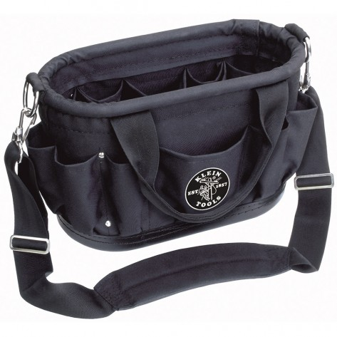 Klein 58888 12 Pocket Tool Tote with Shoulder Strap