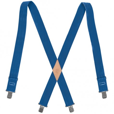 Klein 60210B Nylon-Web Suspenders with Adjustable Back