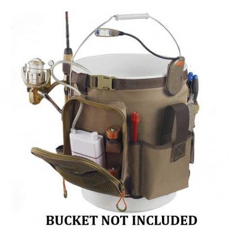 Wild River WL3506 Tackle Tek Rigger 5 Gal Bucket Organizer Lighted