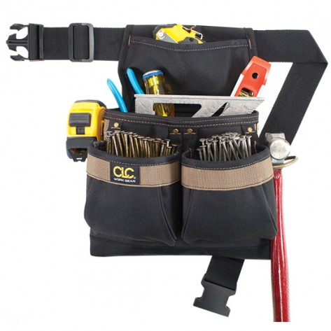 CLC PK1836 5 Pocket Nail and Tool Bag