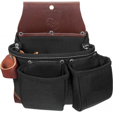 Occidental Leather B8017DBLH OxyLights 3 Pouch Tool Bag Left Handed