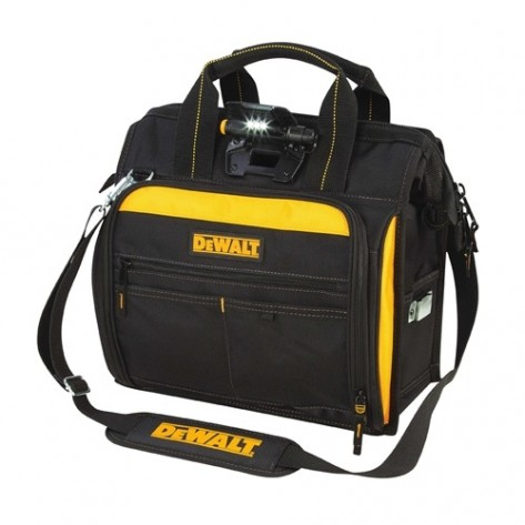 DeWalt DGL573 41 - Pocket Lighted Technicians Tool Bag