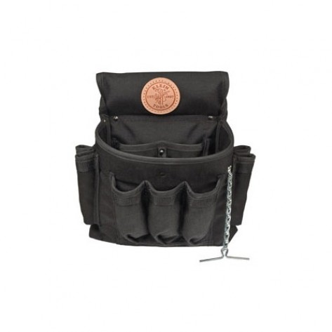 Klein 5719 PowerLine 18-Pocket Electricians Tool Pouch