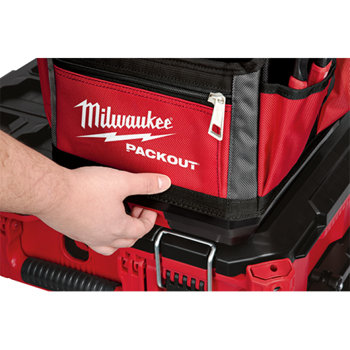 Milwaukee 48-22-8310 10-Inch 28-Pocket Ballistic Material Packout Tote