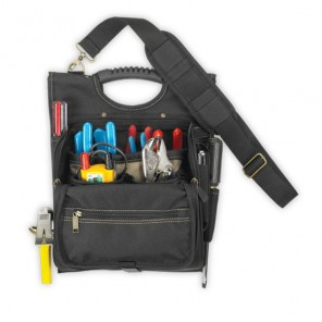 CLC 1509 21 Pocket Zippered Professional Electrician's Tool Pouch