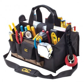 CLC 1529 15  Pocket 16 in. Center Tray Softside Tool Bag