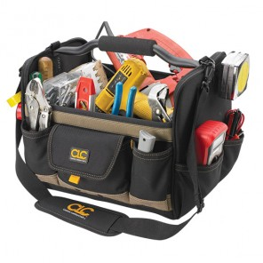 CLC 1578 21  Pocket 14 in. Open-Top SoftSide Tool Bag