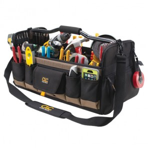 CLC 1579 27 Pckt 20 in Open Top Softside Tool Bag