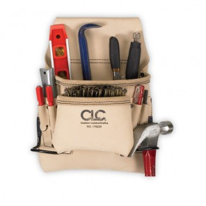 CLC 178234 8 Pocket Carpenter's Nail & Tool Bag
