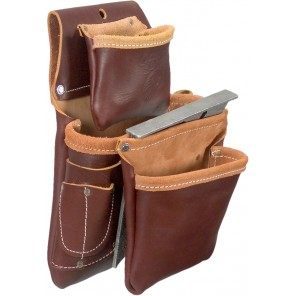 Occidental Leather 5060 3 Pouch Pro Fastener Bag