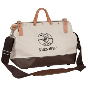 Klein 5102-16SP 16-in. Deluxe Canvas Tool Bag