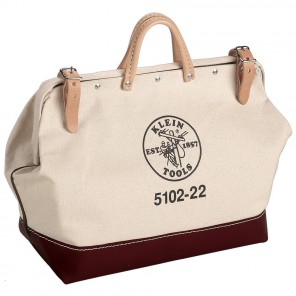 Klein 5102-22 22-in. (559 mm) Canvas Tool Bag