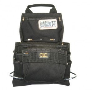 CLC 5833 9 Pocket Carpenter's Nail & Tool Bag
