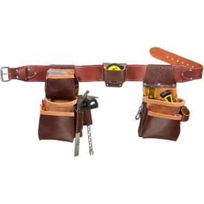 Occidental Leather 6100T Pro Trimmer Tool Belt with Tape Holster
